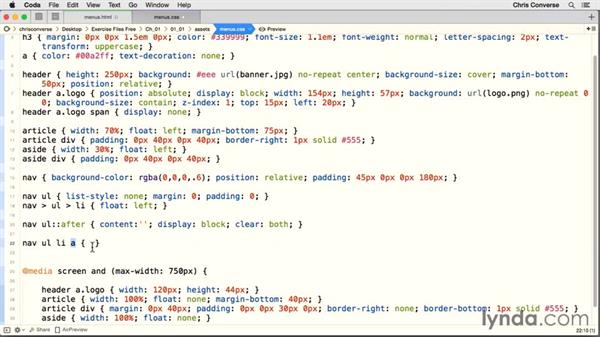 Clearing the floats with pseudo-elements: Design the Web: Creating CSS-Only Navigation Menus