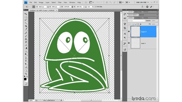 Sharing with InDesign, Flash, and Photoshop: Illustrator CS4 One-on-One: Fundamentals