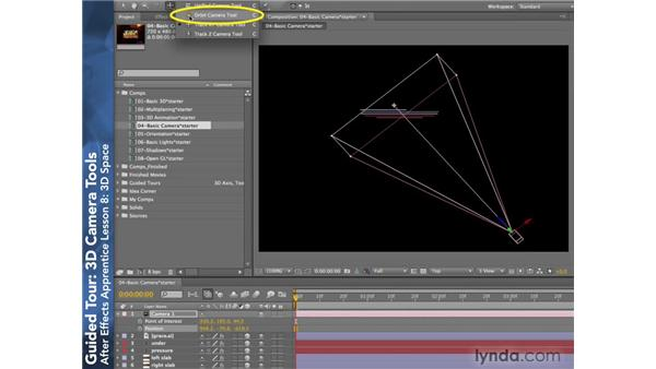 3D Camera Tools: After Effects CS4: Apprentice's Guide to Key Features