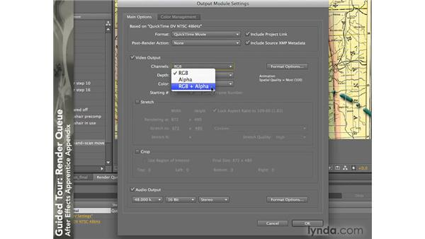 Render Queue: After Effects CS4: Apprentice's Guide to Key Features