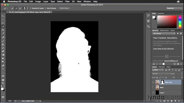 Masking shortcuts: Photoshop CC Power Shortcuts