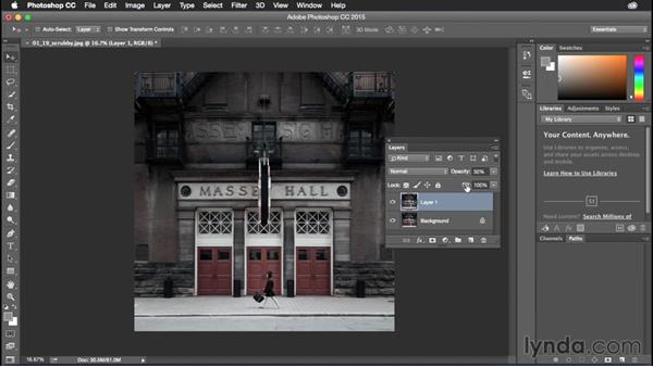 Using the scrubby sliders: Photoshop CC Power Shortcuts