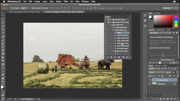 Working with conditionals: Photoshop CC Power Shortcuts