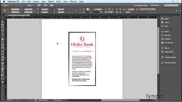 Copying InDesign artwork into Illustrator or Photoshop: InDesign Insider Training: Working with Photoshop and Illustrator