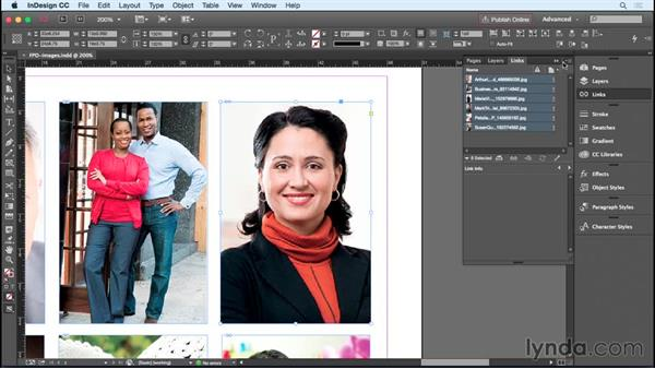 Swapping high-res for low-res FPO images: InDesign Insider Training: Working with Photoshop and Illustrator