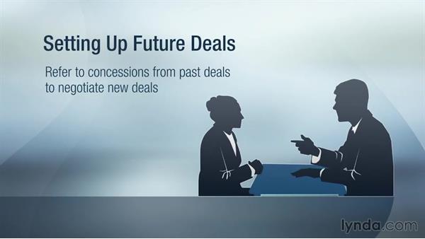 Setting up future deals: Strategic Negotiation