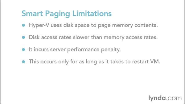 Configuring Smart Paging: Configuring Windows Server 2012 R2 Hyper-V