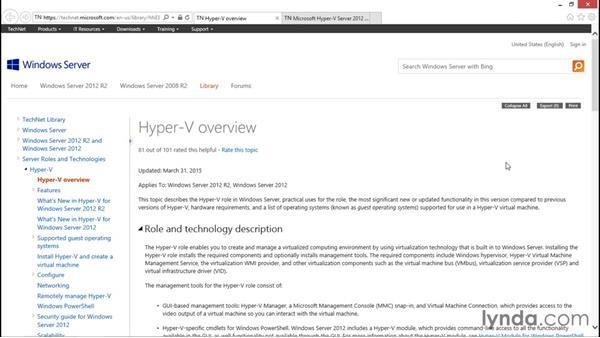 Next steps: Configuring Windows Server 2012 R2 Hyper-V