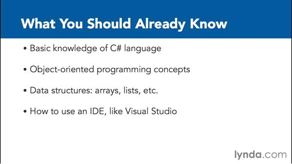What you should already know: C# Interfaces and Generics
