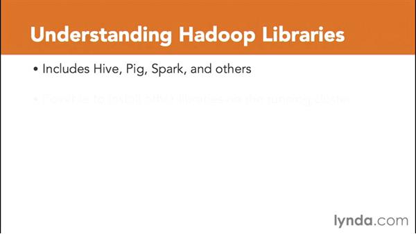 Understanding Hadoop jobs and libraries: Amazon Web Services Data Services
