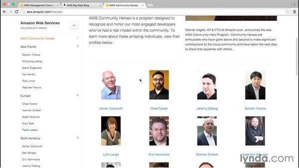Exploring more resources: Amazon Web Services Data Services