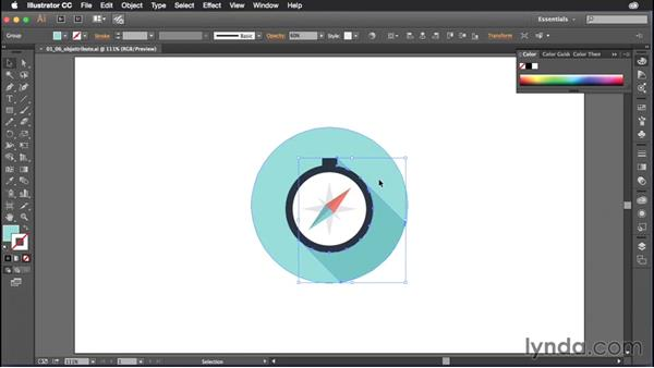 Grouping objects the easy way: Illustrator CC Power Shortcuts