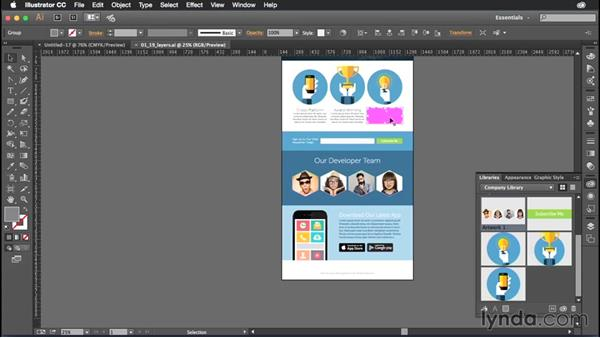Getting the most out of CC Libraries: Illustrator CC Power Shortcuts