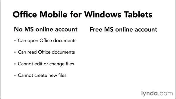 Welcome: Up and Running with Office Mobile for Windows 10