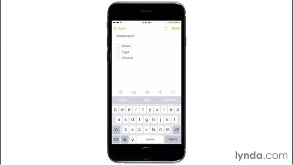 Using the updated Notes app: iOS 9 New Features