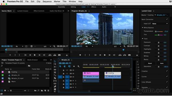 Welcome: Premiere Pro Guru: Adjustment Layers and Nesting