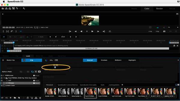 Apply LUTS using the Lumetri effect: Premiere Pro Guru: Adjustment Layers and Nesting