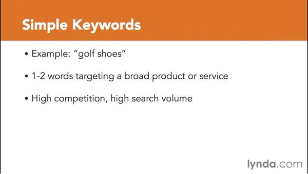 Using simple and long tail keyword searches: SEO for Ecommerce