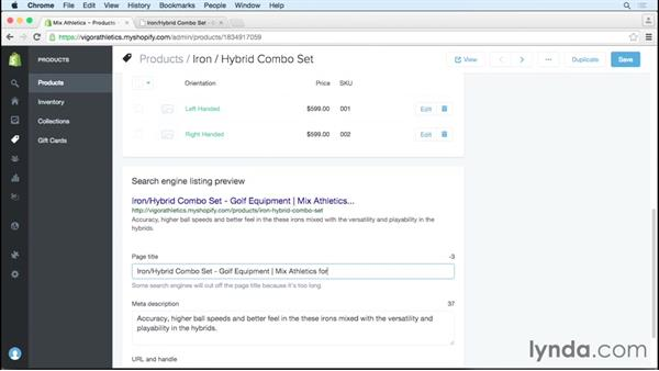 Harnessing page titles and meta information: SEO for Ecommerce