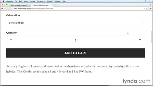 Exploring page structure: Headings, copy, and images: SEO for Ecommerce