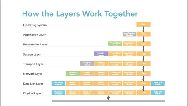 Discovering how the layers work together: Foundations of Networking: Networking Basics