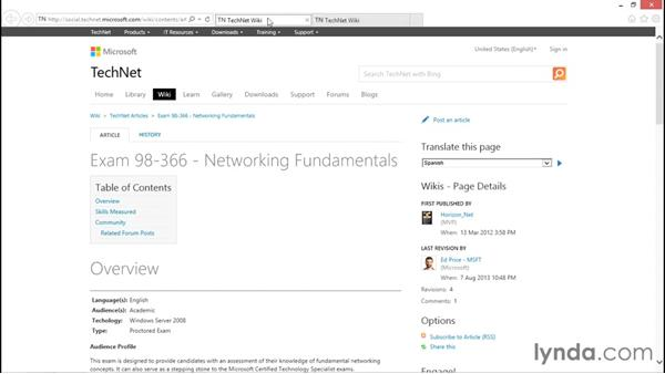 Next steps: Foundations of Networking: Networking Basics