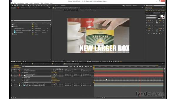 Finishing touches and adding motion blur: mocha 4 Essential Training
