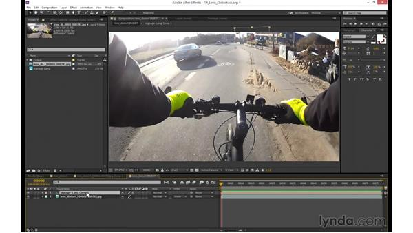 How to use the distortion data in After Effects: mocha 4 Essential Training