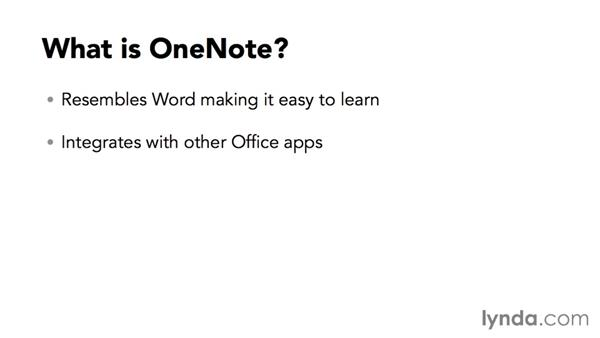 What is OneNote?: OneNote 2016 Essential Training