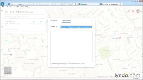 Embedding maps: Sway Essential Training