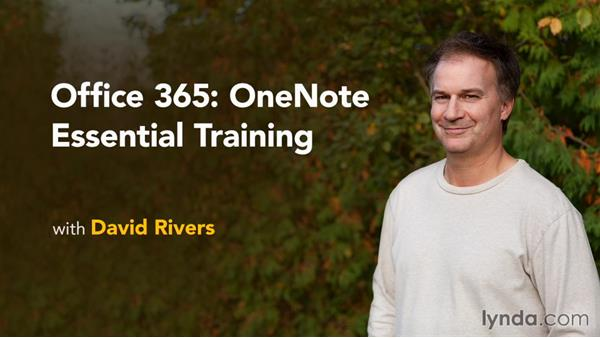 Next steps: Office 365: OneNote Essential Training