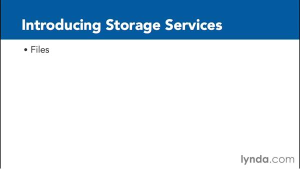 Introducing storage services: Google Cloud Platform Essential Training