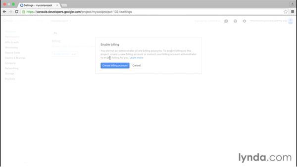 Understanding billing: Google Cloud Platform Essential Training