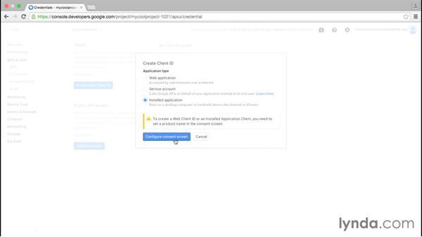 Working with project security: Google Cloud Platform Essential Training