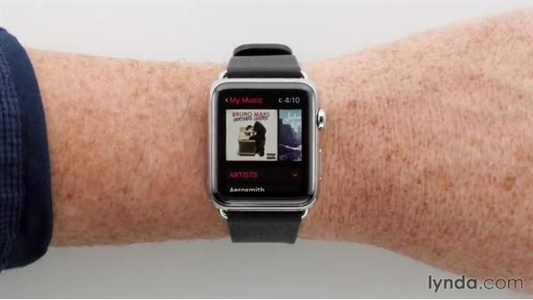 Browsing music: Apple watchOS 2 New Features