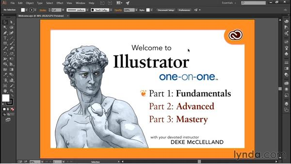 Opening from the Windows desktop: Illustrator CC 2015 One-on-One: Fundamentals