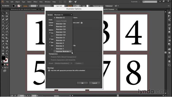 Saving your changes: Illustrator CC 2015 One-on-One: Fundamentals