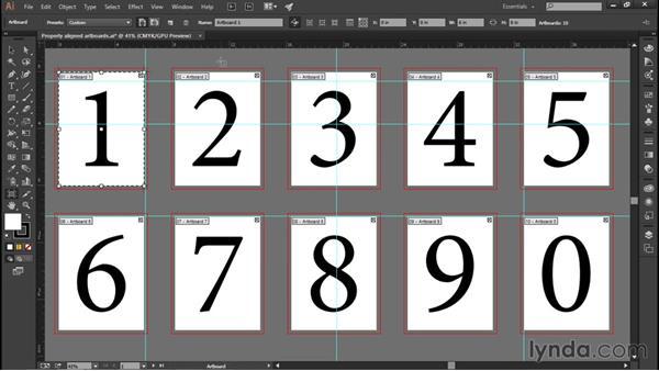 Artboards and rulers: Illustrator CC 2015 One-on-One: Fundamentals