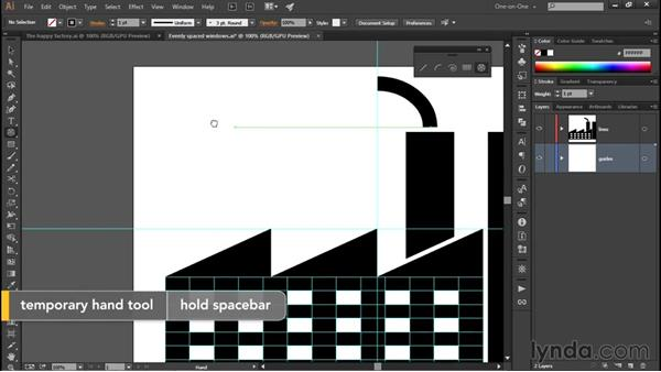 Using the Polar Grid tool: Illustrator CC 2015 One-on-One: Fundamentals