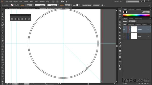 Creating compound paths: Illustrator CC 2015 One-on-One: Fundamentals