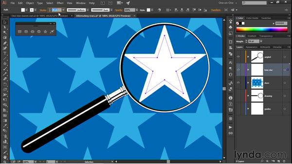 Introducing the Group Isolation mode: Illustrator CC 2015 One-on-One: Fundamentals