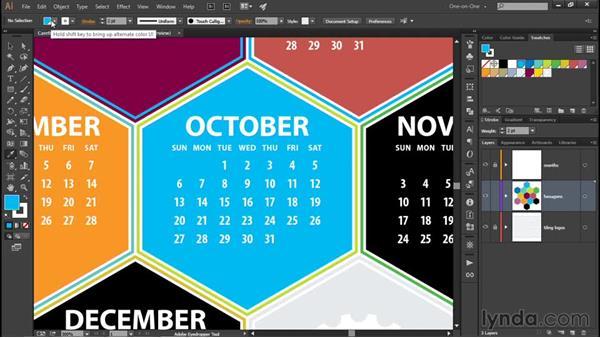 Using the Eyedropper tool: Illustrator CC 2015 One-on-One: Fundamentals