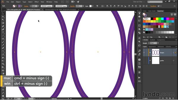 How strokes align to path outlines: Illustrator CC 2015 One-on-One: Fundamentals
