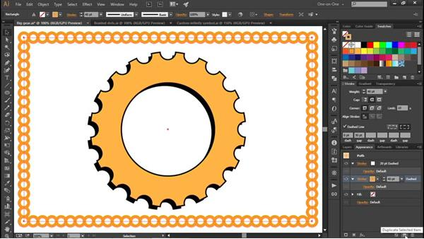 Combining multiple strokes: Illustrator CC 2015 One-on-One: Fundamentals