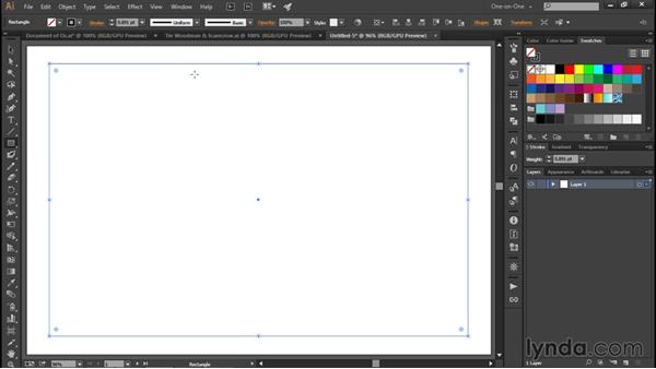 Setting up page margins: Illustrator CC 2015 One-on-One: Fundamentals