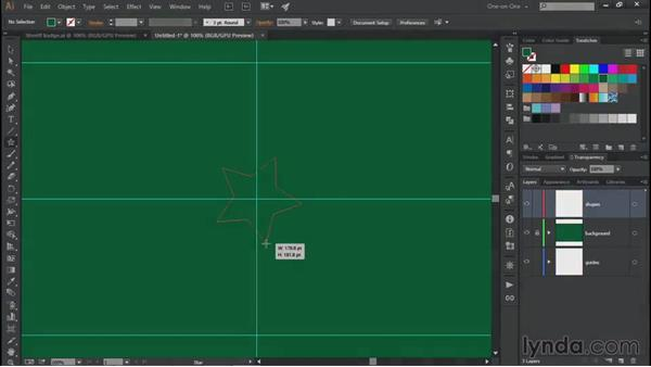 Join and the Shape Builder: Illustrator CC 2015 One-on-One: Fundamentals