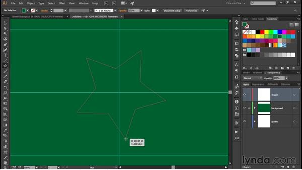 Creating a real-world project: Illustrator CC 2015 One-on-One: Fundamentals