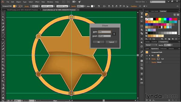 Coloring a path with the Shape Builder: Illustrator CC 2015 One-on-One: Fundamentals