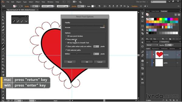 Extending and connecting paths: Illustrator CC 2015 One-on-One: Fundamentals