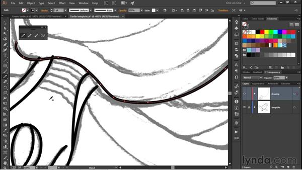 Combining the Pencil with a drawing tablet: Illustrator CC 2015 One-on-One: Fundamentals